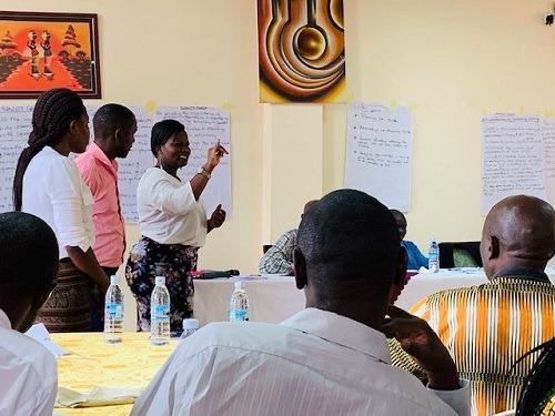 Training of national members in Uganda