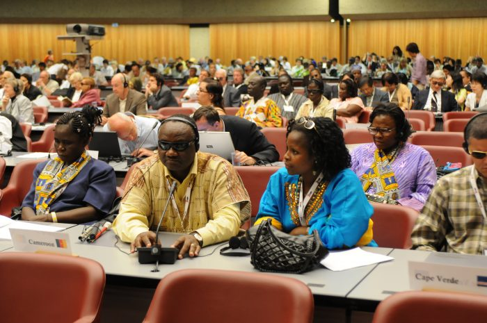 Participants at WBU General Assembly held in Geneva in 2008