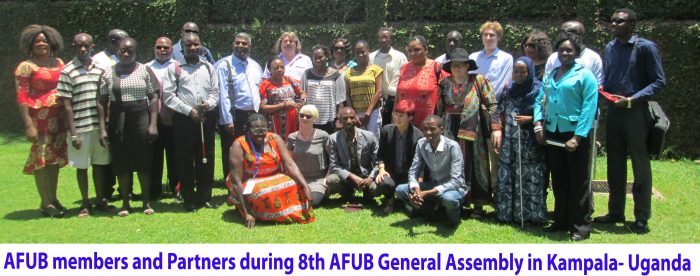 Photo: AFUB members and partners