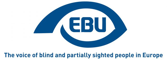 Image: The European Blind Union logo
