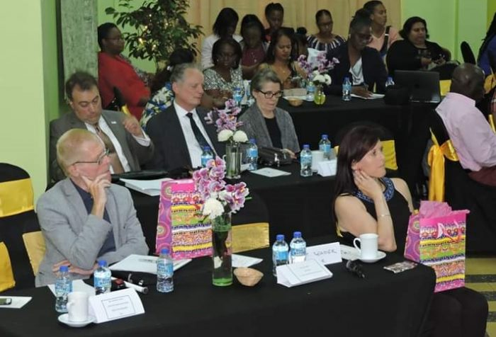 Photo: NA/C members at a regional meeting in Trinidad
